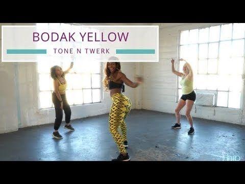Bodak Yellow Twerk Dance Workout | Cardi B | Tone N Twerk Dance - YouTube