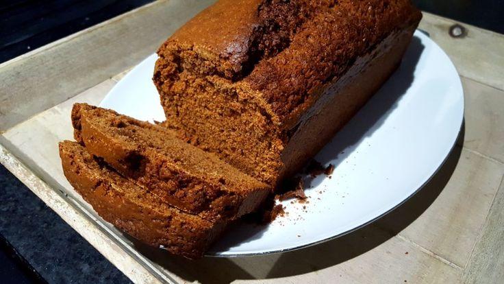 Oma Elly's bruine koek – recept