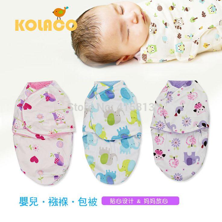 Free Shipping Double Layers Blanket Baby Swaddling Flannel Microfiber Fleece Soft Newborn Cartoon Sleeping Bag