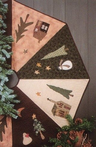 This pattern is one of our hottest sellers! Whimsicals' quilt patterns are a bit whimsical, a bit folkart, and a bit traditional.   By using a variety of techniques, combined with detailed instructions, both the novice and experienced quilter will find their patterns enjoyable and easy to make.