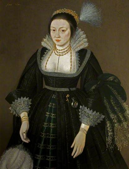 Portrait of a Lady of the Morgan Family
