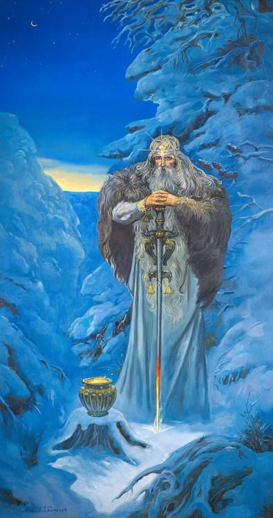 Svarog (Old Church Slavonic: Сваро́гъ, Russian: Сварог, Polish: Swaróg) is a Slavic deity known primarily from the Hypatian Codex, a Slavic translation of the Chronicle of John Malalas. Svarog is there identified with Hephaestus, the god of the blacksmith in ancient Greek religion, and as the father of Dažbog, a Slavic solar deity.