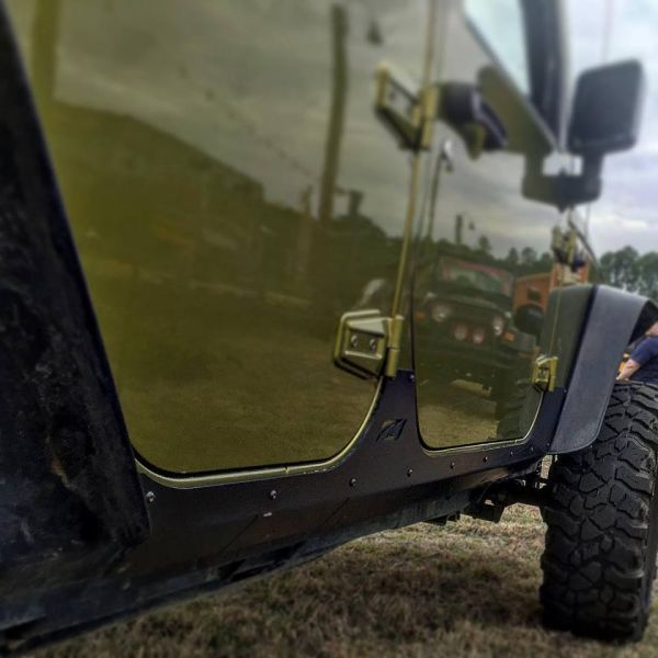 Jeep JK Unlimited Rocker Guards and Armor from Motobilt