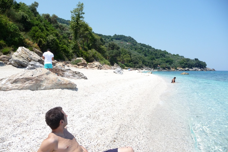 Aghios Ioannis' beach in Pelion