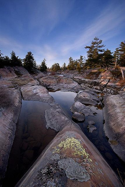 French River in Ontario Canada by Peter Bowers from Flickr.