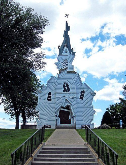 Patchwork Church   (10 Beautiful Photos)