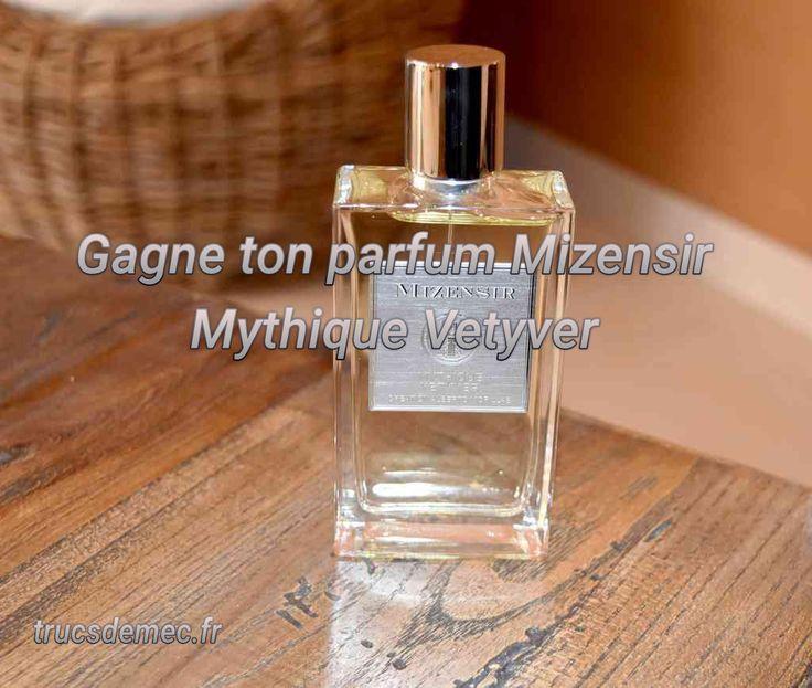 [Concours Inside] Remportez le parfum Mizensir Mythique Vetyver (3 gagnants)