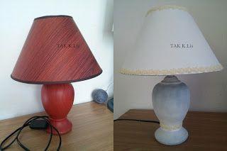 Twórczo Aktywnie Kreatywnie K.Lis: Metamorfoza lampki