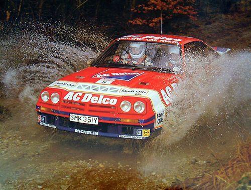 Opel Manta 400 rally car - Group B