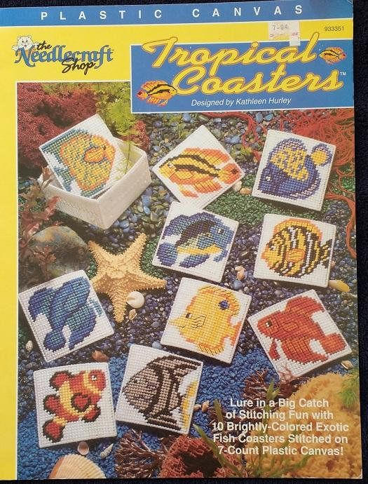 Tropical Coasters Plastic Canvas Pattern Book