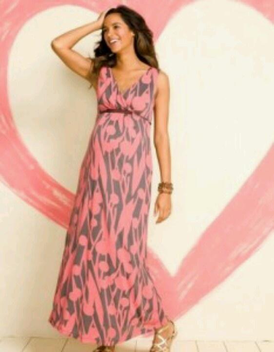Beautiful long Maternity dress