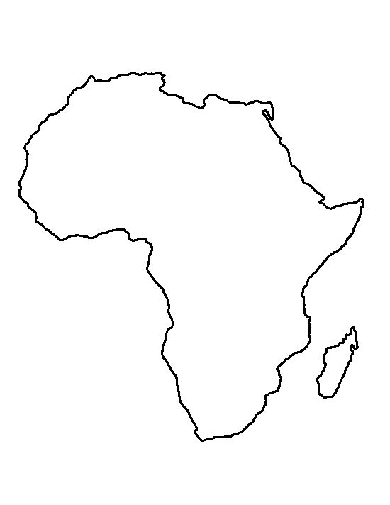 Africa pattern. Use the printable outline for crafts, creating stencils, scrapbooking, and more. Free PDF template to download and print at http://patternuniverse.com/download/africa-pattern/