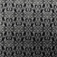 Florence Broadhurst Paris Black Wallpaper