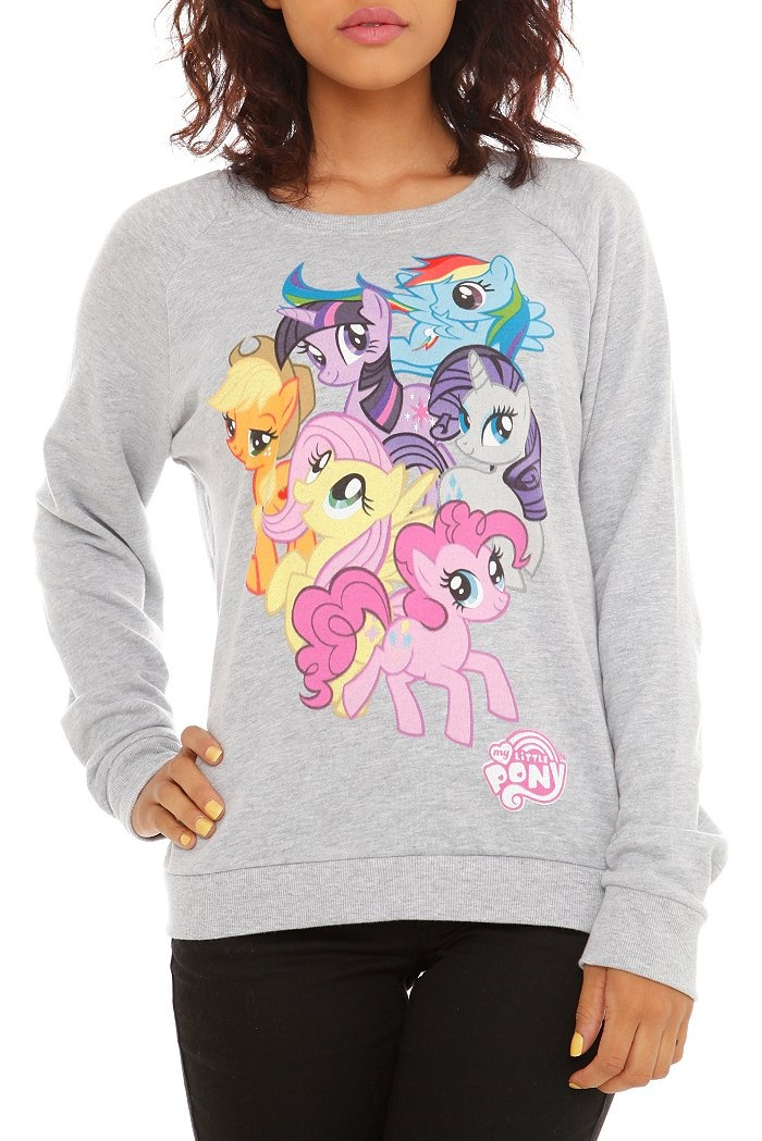 MY LITTLE PONY GROUP PULLOVER