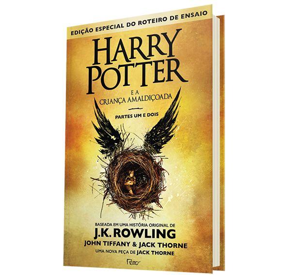 Livro - Harry Potter e a Criança Amaldiçoada (Livro 8) - Capa Dura…