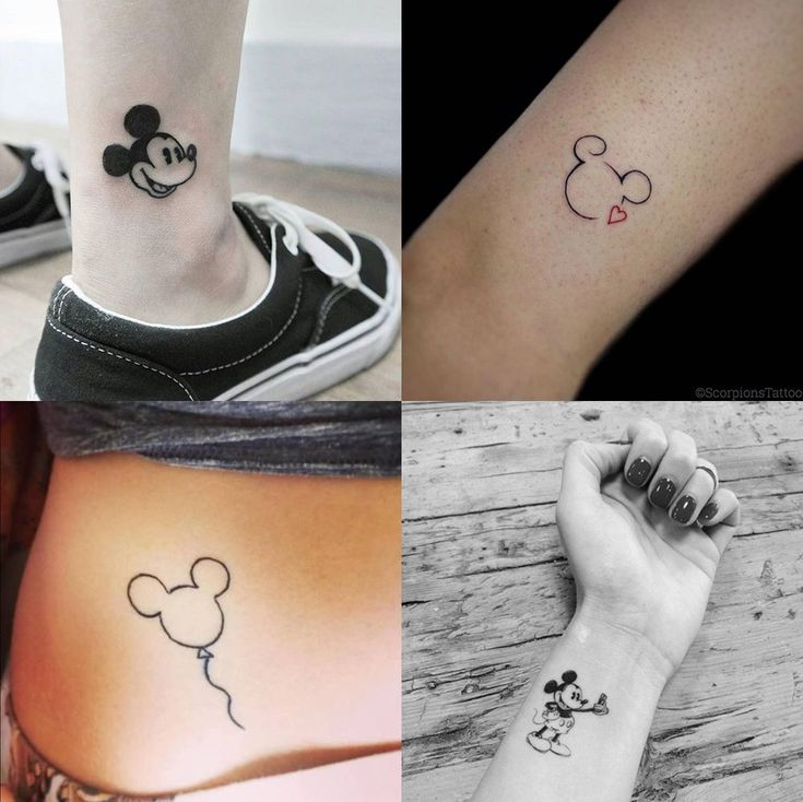Mickey and Disney Tattoos for Inspiration