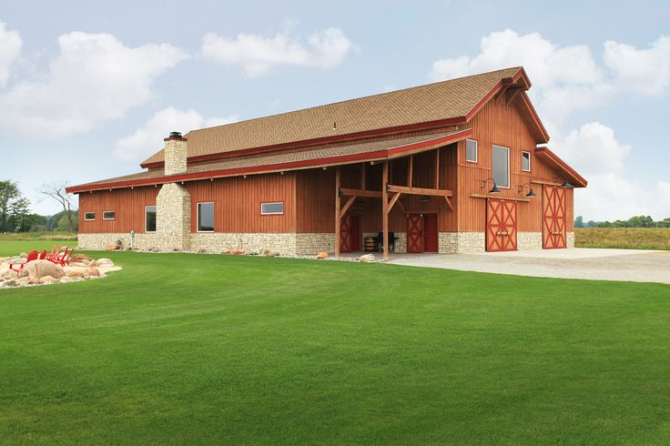 70 best images about sand creek barns on pinterest for Post and beam ranch homes