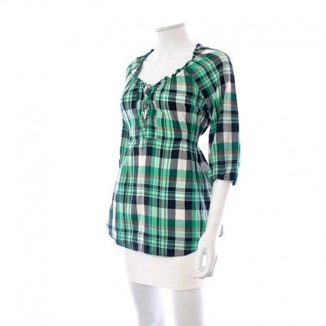 Shopper votre : Blouse - Miss Etam à 6,99 € : Découvrez notre boutique en ligne : www.entre-copines.be | livraison gratuite dès 45 € d'achats ;)    La mode à petits prix ! N'hésitez pas à nous suivre. #fashion #follow4follow #Blouses & Tuniques, Soldes #Miss Etam