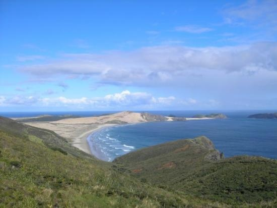 Cape Reinga. Rounding this cape after hurricane Bola almost killed us, a moment of feeling uttery in love with life....