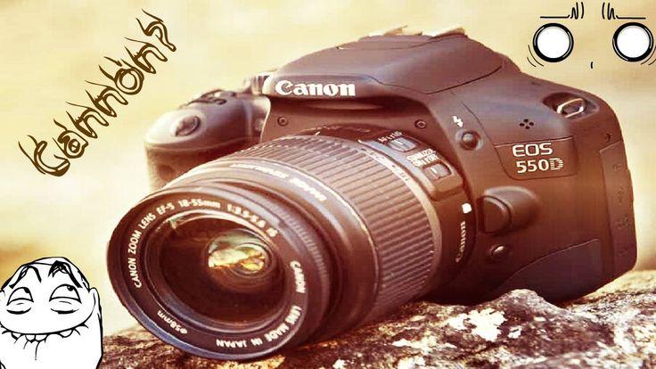 Обзор зеркального фотоаппарата #Canon EOS 550D черные полосы!?