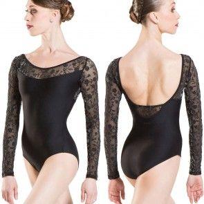 Maillot Ballet Manga Larga Wear Moi - Sibelle