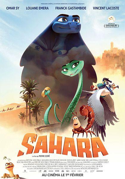 Sahara: Cansados de ser el chivo expiatorio de su comunidad, Ajar una serpiente y su amigo Pitt, el escorpión, deciden probar suerte en un cercano oasis habitado por la alta burguesía del desierto del Sahara y volver a encontrar a Eva, una hermosa serpiente de la que se enamoró Ajar locamente. Éste es el comienzo de divertidas aventuras que les conducirán a través del desierto en busca del amor y también a la búsqueda de ellos mismos.