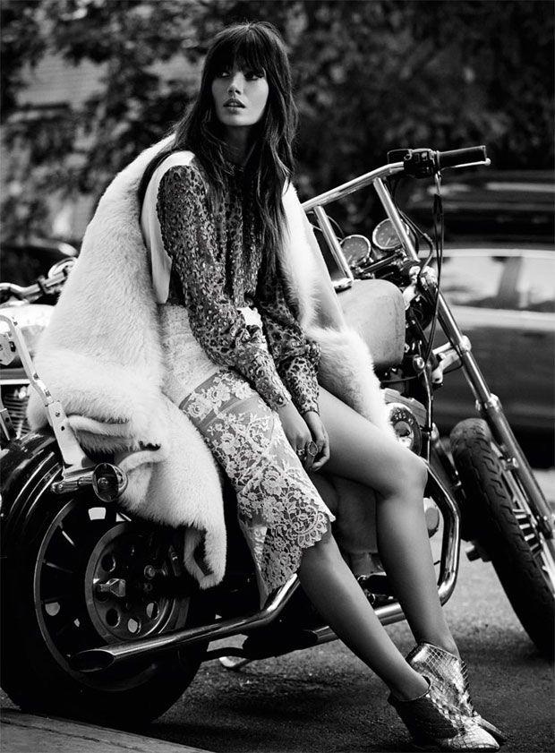 Lily Aldridge by David Roemer for S Moda