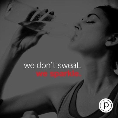 Pure Barre! I sweat so much that I  look like a bottle of glitter