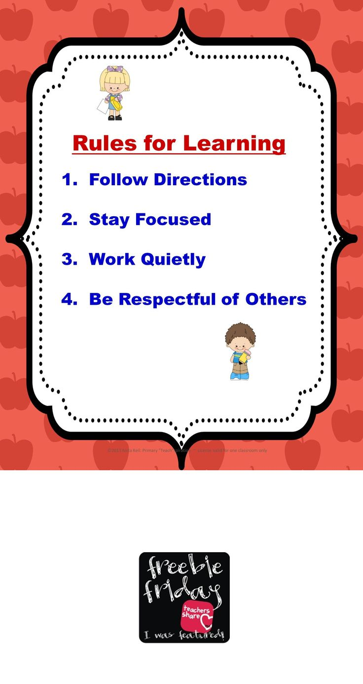 Collaborative Classroom Rules ~ Best kids images on pinterest good ideas infant