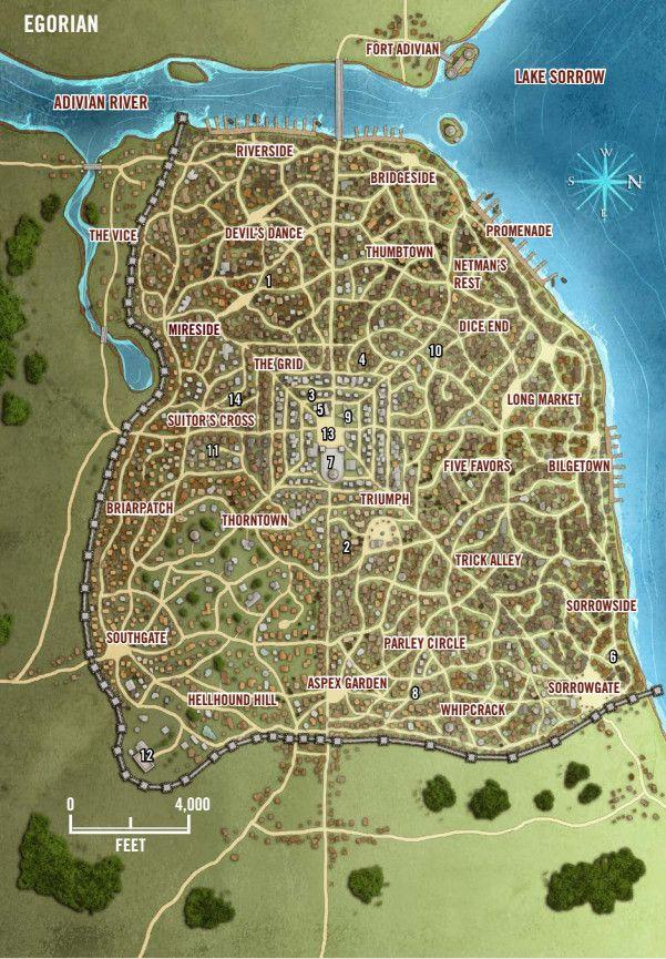 Egorian Pathfinder Map Fantasy City Map Fantasy Map Fantasy City