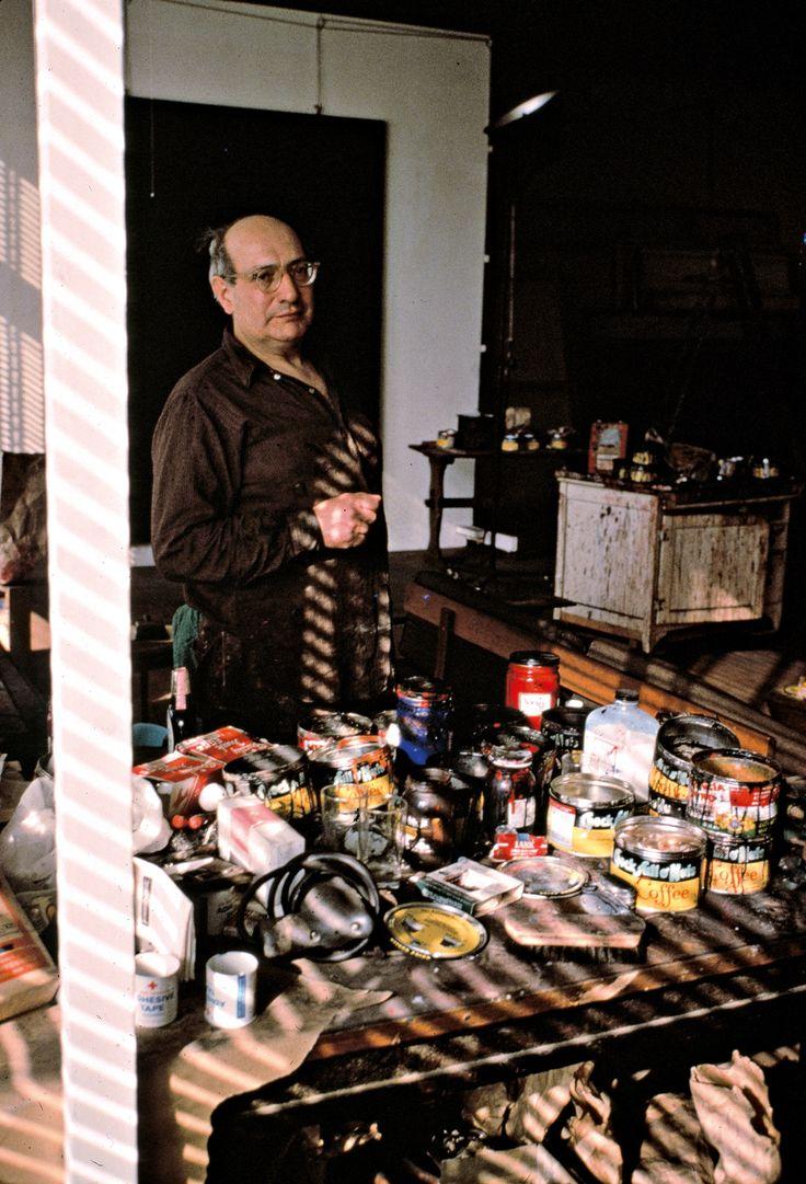 Rothko in his Studio, New York, 1964