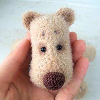 Plush Bear stuffed toy bear plush bear beige stuffed bear