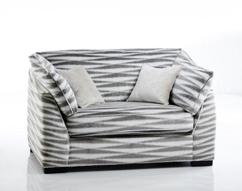 Hailey snuggler #meyerandmarsh #livingroom
