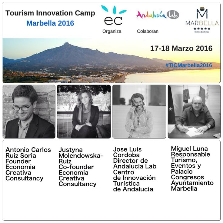 Join the Crowd! Meet the Experts 'Tourism Innovation Camp Marbella 2016' || Une tu expertise y marca la diferencia en el 'Tourism Innovation Camp #Marbella 2016' || más detalles: https://tourisminnovationcampmarbella2016.wordpress.com/experts/