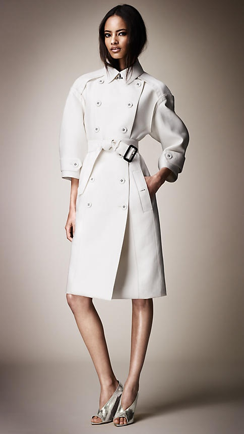 Double Duchess Tailored Trench Coat | Burberry: Burberrywiosna Lato 2013, Burberry Wiosna Lato, Tailored Trench Coats, Fashion Street, Awesome Fashion, Burberrywiosnalato 2013, Burberry Prorsum, Gorgeous Coats, Burberry Eksperymentuj