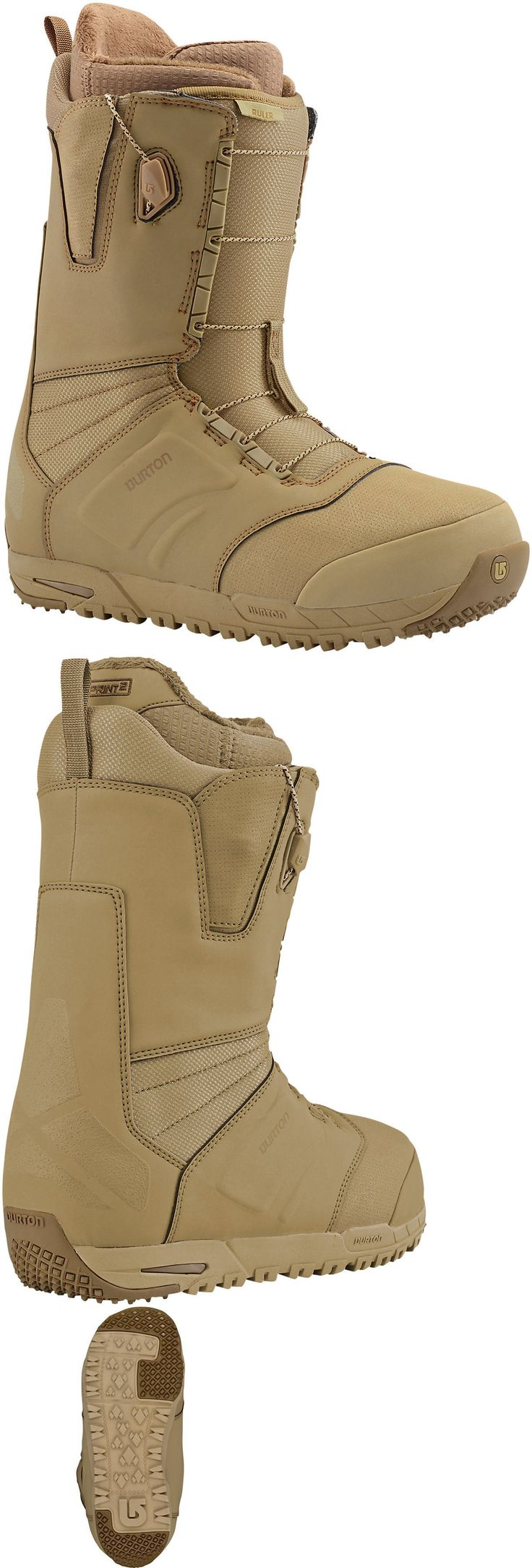 Boots 36292: 2017 Men S Burton Ruler Snowboard Boots Militant Tan -> BUY IT NOW ONLY: $180 on eBay!