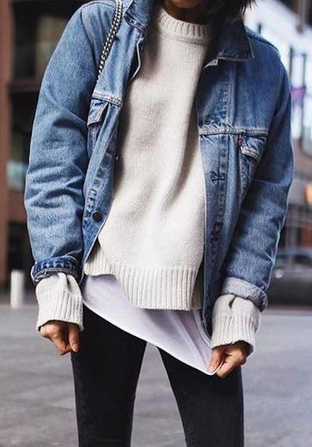 1000  ideas about Jean Jacket Outfits on Pinterest   Jean jackets