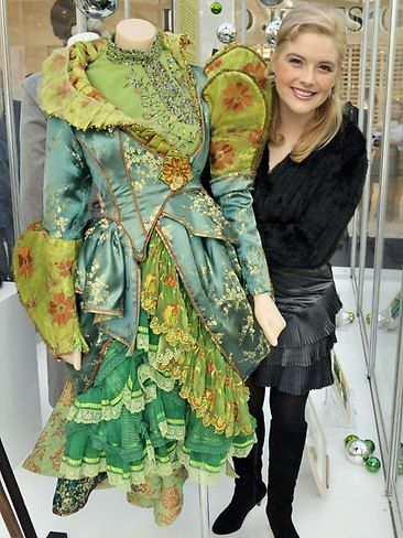 The Wicked Costumes and Sketches Exhibition at Claremont Quarter. Picture: Alf Sorbello.