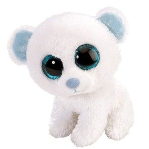 "Rare Beanie Boos | Snow the Polar Bear (6"")"