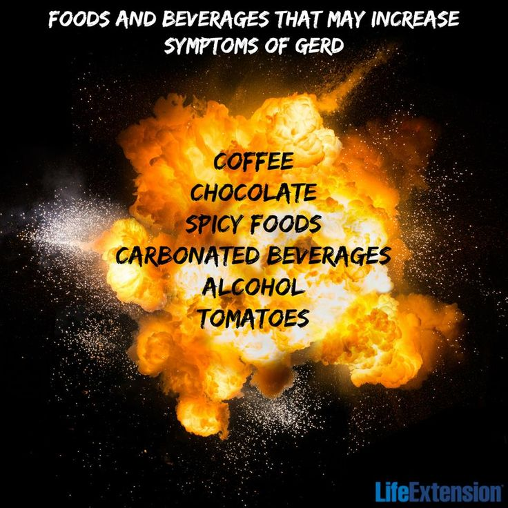 If you have Gastroesophageal Reflux Disease (GERD), be careful with these! #nutrition #GERD #health #lifeextension