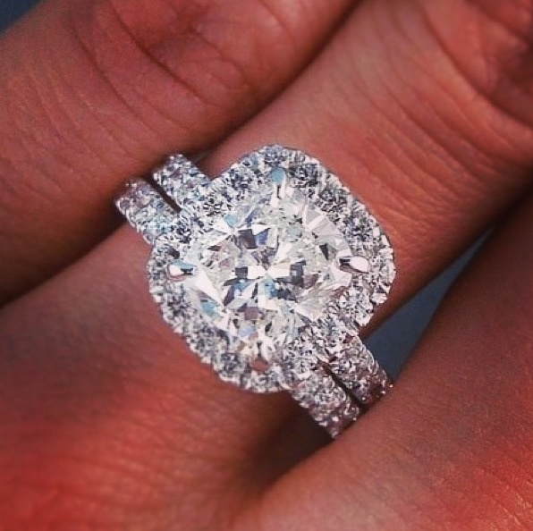 Engagement Ring Wedding Band