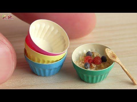 DIY Miniature Granola | Petit Palm - YouTube