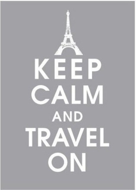 keep calm and travel on #quotes #frases #travel