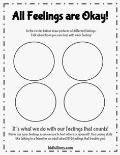 Help Kids Identify and Talk About How to Deal with Feelings #PlayTherapy…