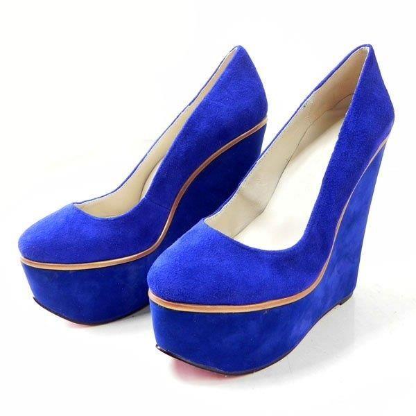 Синие замшевые туфли фабрика обуви