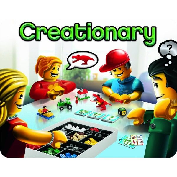 LEGO Creationary Game - The best selling LEGO Game! Order today: http://lifesabargain.net/lego-creationary-game/