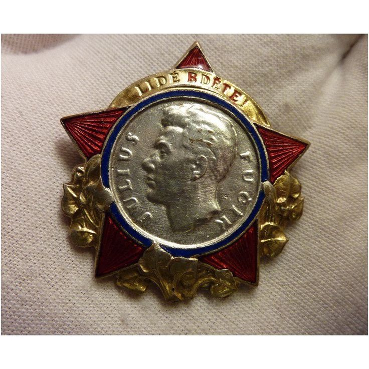 Fucik's honorary badge - People wake up!