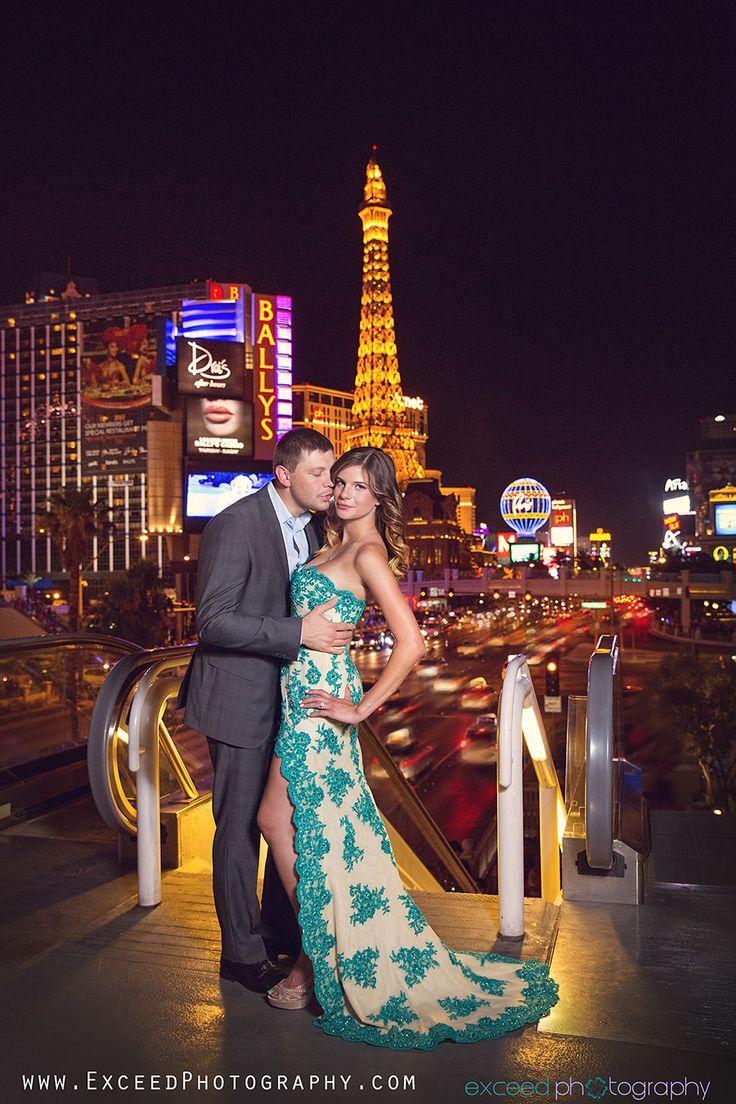 Las Vegas Engagement Photo Tour Amanda And John
