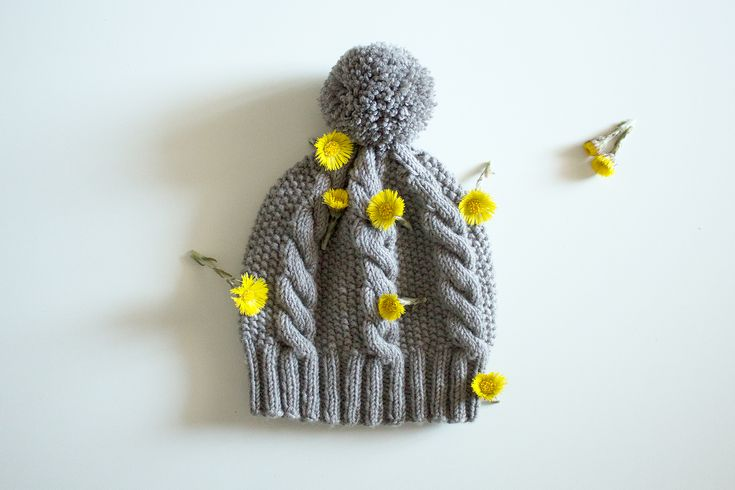Cable beanie / Palmikkoneulepipo