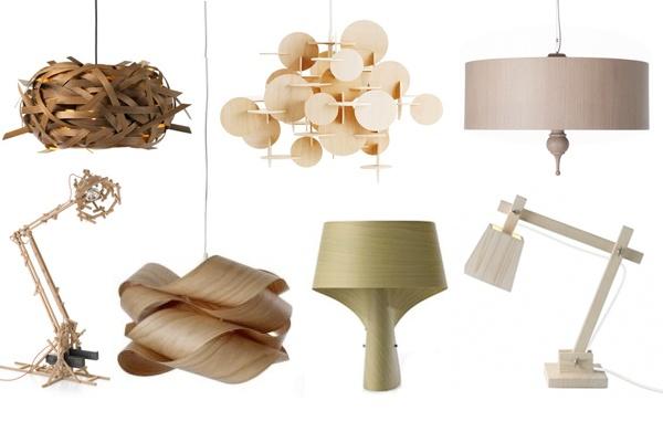 wooden lampe